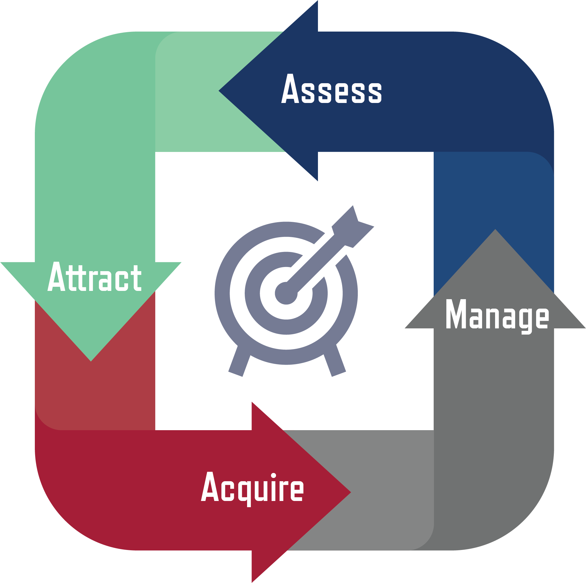 Assess, Attract, Acquire, Manage